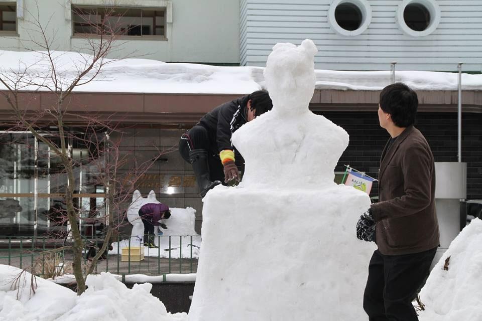 雪像コンクール