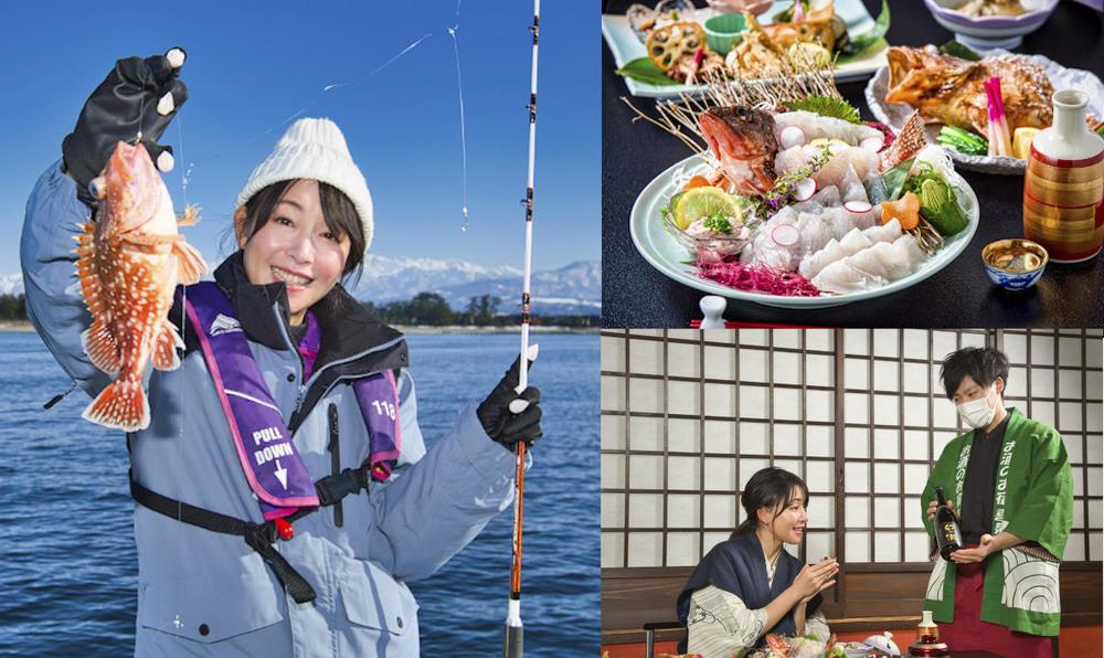 釣った魚と地酒のペアリング♡温泉旅館で贅沢な釣り旅